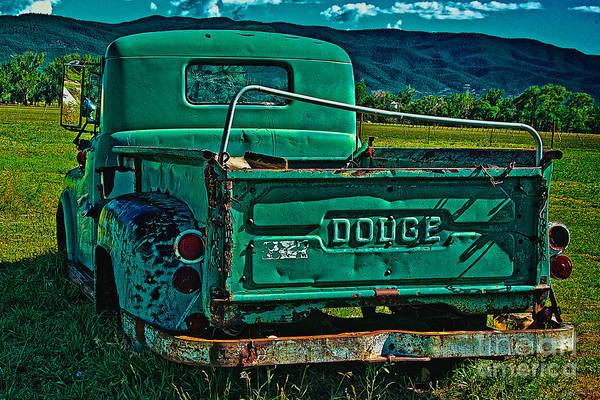 Photograph - Vivid Dodge Vi by Charles Muhle