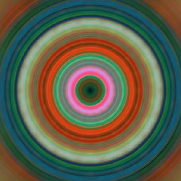 Painting - Vivid Peace - Circle Art By Sharon Cummings by Sharon Cummings