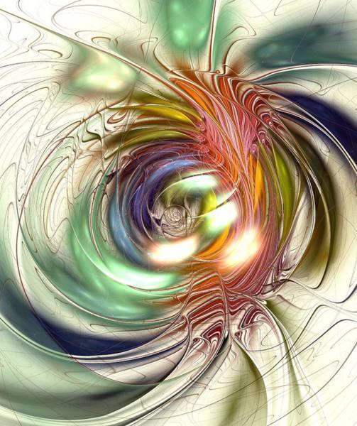 Digital Art - Vivid Vision by Anastasiya Malakhova