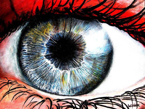 Eyeballs Painting - Vivid Vision  by Tylir Wisdom