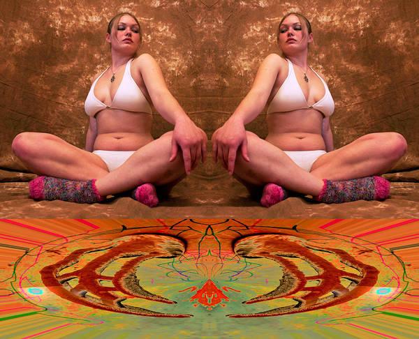 Photograph - Vixeneous Twins Trap Collapsing 2011 by James Warren
