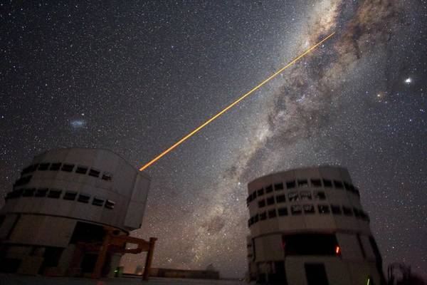 Facilities Photograph - Vlt Laser Guide Star Facility by European Southern Observatory/yuri Beletsky/science Photo Library