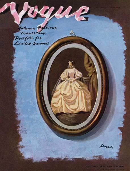 Photograph - Vogue Cover Illustration by Eduardo Garcia Benito