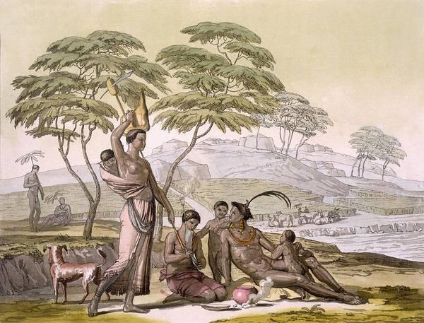 Exotic Drawing - Vol II Pl.64 South East Coast Cafre by Sir John Barrow