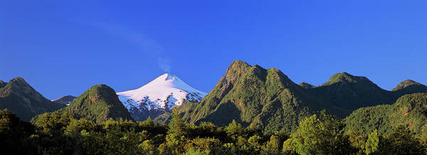 Active Volcano Photograph - Volcan Villarrica (2814m by Martin Zwick