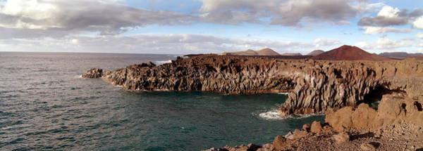 Wall Art - Photograph - Volcanic Coastline by Tony Craddock/science Photo Library