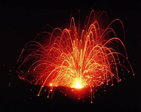 Wall Art - Photograph - Volcanic Eruption by Jack Fields