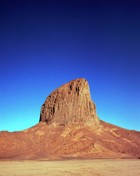 Volcanic Craters Photograph - Volcanic Plug by David Parker/science Photo Library