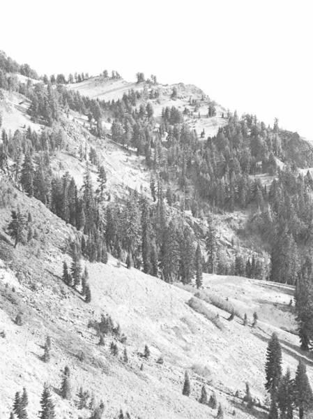 Photograph - Volcanic Slopes Of Mount Lassen by Frank Wilson