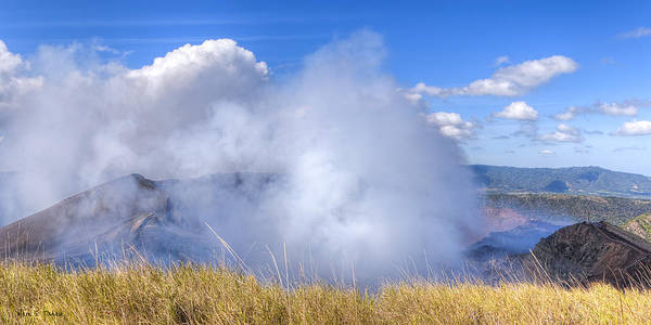 Wall Art - Photograph - Volcano Masaya Panorama by Mark Tisdale