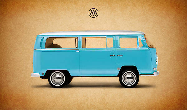 Wall Art - Photograph - Volkswagen Bus by Mark Rogan