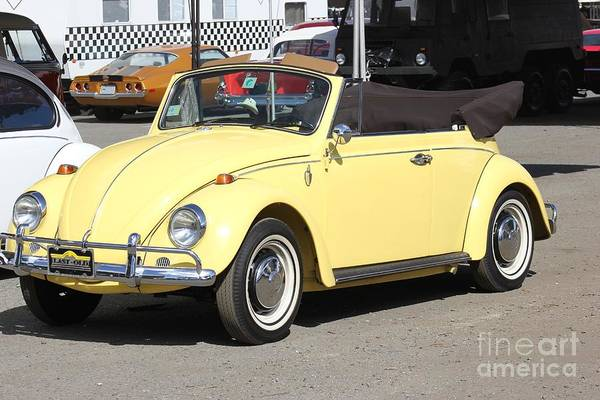 Photograph - Volkswagen Convertible Vintage by The Art of Alice Terrill