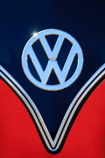 Photograph - Volkswagen Vw Emblem - 077c by Jill Reger