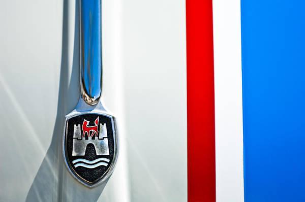 Volkswagen Photograph - Volkswagen Vw Hood Emblem 3 by Jill Reger