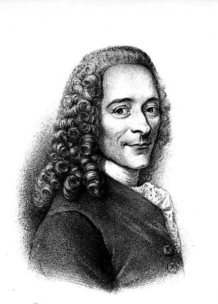 Francois Marie Arouet Photograph - Voltaire by Collection Abecasis