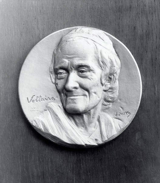 Francois Marie Arouet Photograph - Voltaire by Library Of Congress/science Photo Library