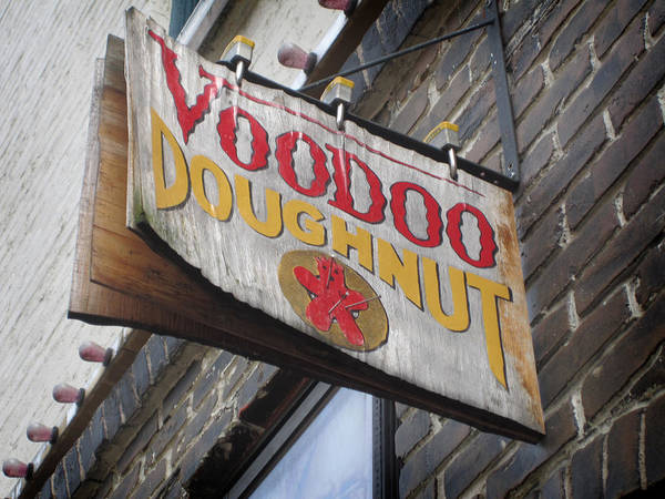 Photograph - Voodoo Doughnuts by Nancy Ingersoll