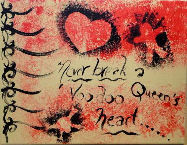 Wall Art - Painting - Voodoo Queen by Valerie Howell