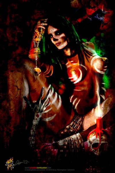 Digital Art - Voodoo U by Doug Schramm