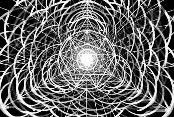 Homeopathy Drawing - Vortex Equilibrium by Derek Gedney