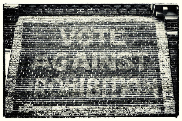 Vote Wall Art - Photograph - Vote Against Prohibition Iv by John Rizzuto
