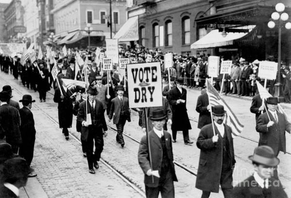 Vote Wall Art - Photograph - Vote Dry by Jon Neidert