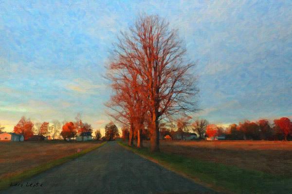 Painting - Voting Season by Lars Lentz