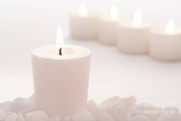 Wall Art - Photograph - Votive Candle by Olivier Le Queinec