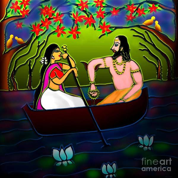 Voyage Digital Art - Voyage by Latha Gokuldas Panicker
