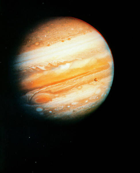 Voyager Photograph - Voyager 1 Photo Of Jupiter by Nasa/science Photo Library
