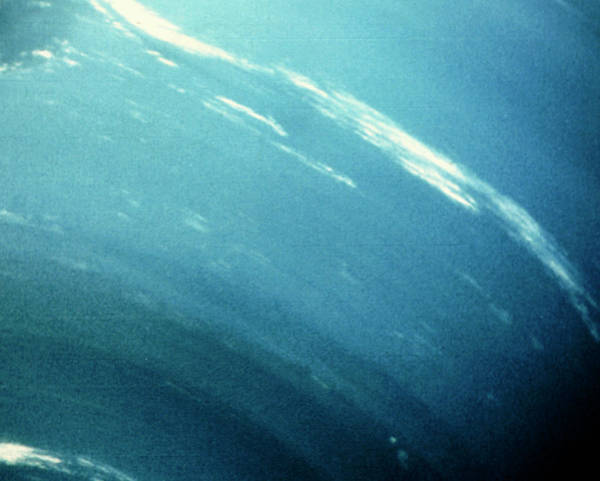 Voyager Photograph - Voyager 2 Image Of Cirrus Clouds by Nasa/science Photo Library