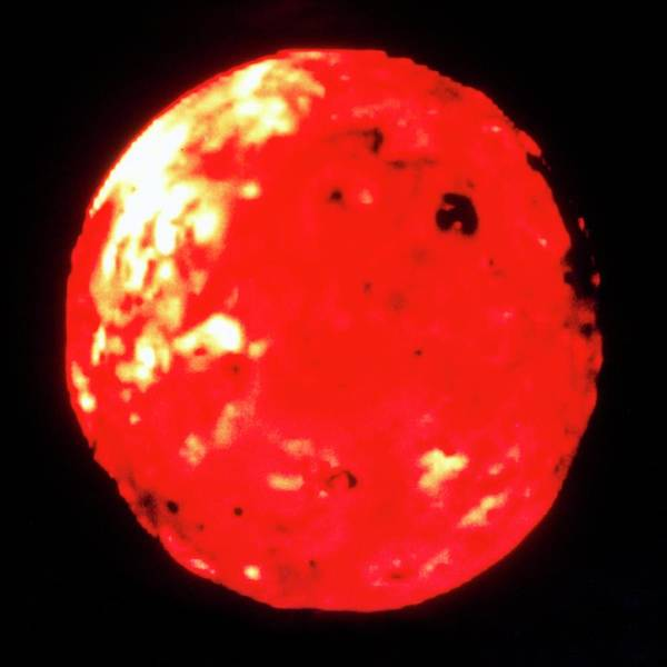 Voyager Photograph - Voyager 2 Image Of Io by Nasa/science Photo Library