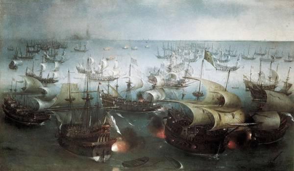 1566 Photograph - Vroom, Hendrick-cornelisz 1566-1640 by Everett