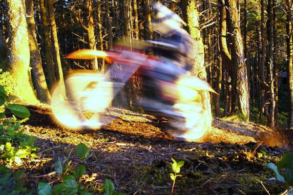 Dirtbike Photograph - Vroom Vroom by Angi Parks