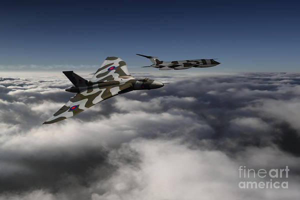 Wall Art - Digital Art - Vulcan And Victor  by J Biggadike