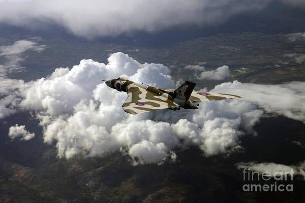 Falklands Digital Art - Vulcan Bird  by J Biggadike