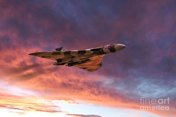 Avro Vulcan Wall Art - Digital Art - Vulcan Glory  by J Biggadike