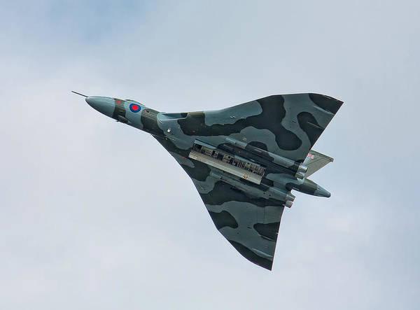 Shirleys Bay Photograph - Vulcan In Flight by Shirley Mitchell