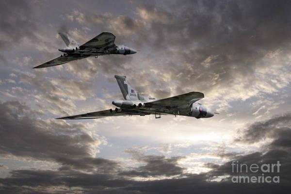 Vulcan Xh558 Wall Art - Digital Art - Vulcan Tribute by J Biggadike