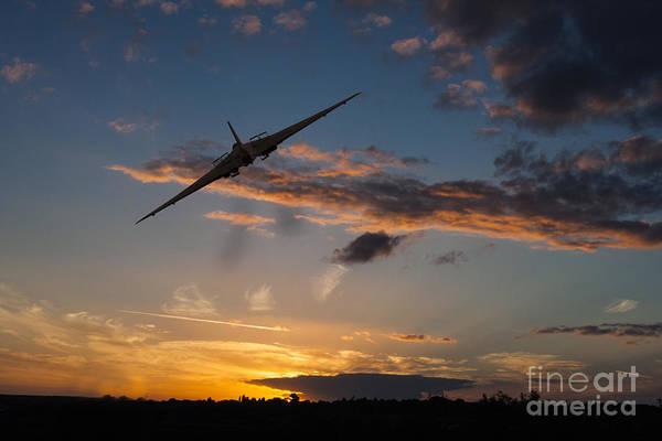 Falklands Digital Art - Vulcan Turn And Break by J Biggadike
