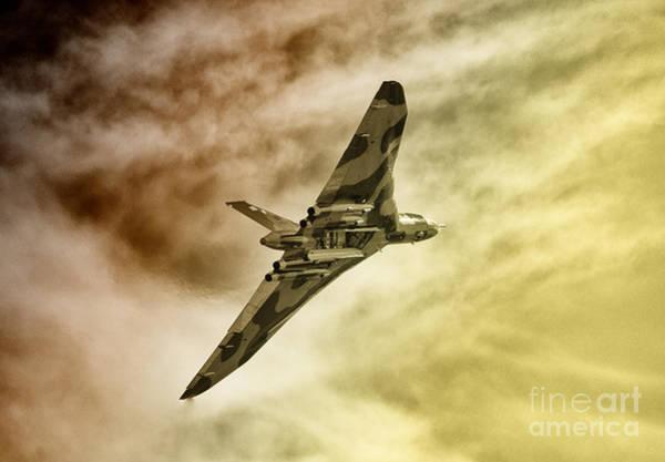 Vulcan Bomber Photograph - Vulcanic  by Rob Hawkins