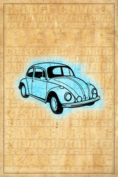 Photograph - Vw Beetle by Andrew Fare