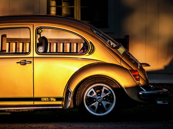 Classic Car Photograph - Vw by Benny Pettersson