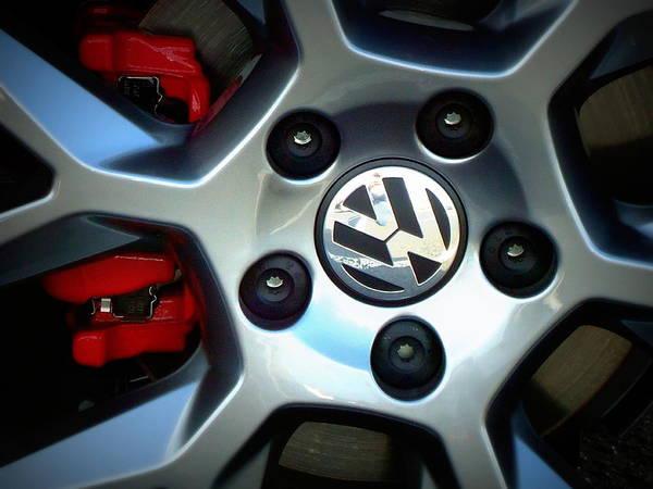 Joseph Photograph - Vw Gti Wheel by Joseph Skompski