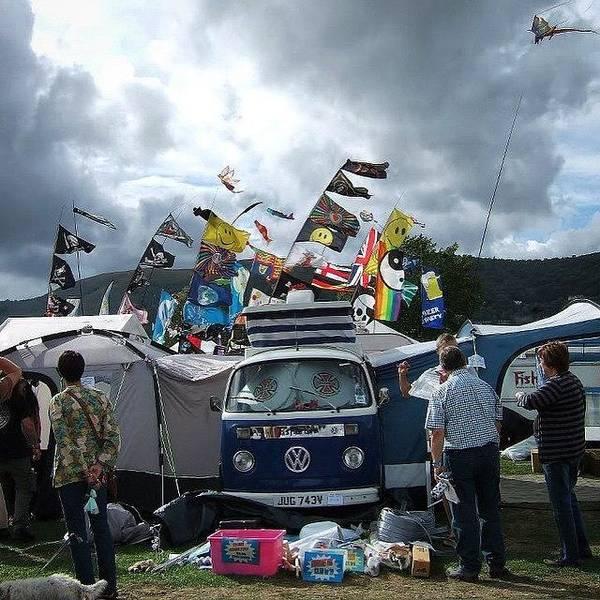 Vw Camper Photograph - #vw #van #camper #camperfest #malvern by Pamela Harridine