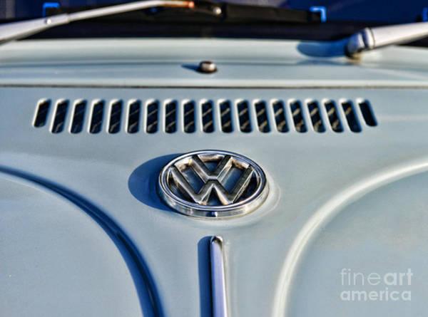 Bug Man Photograph - Vw Volkswagen Bug Beetle by Paul Ward
