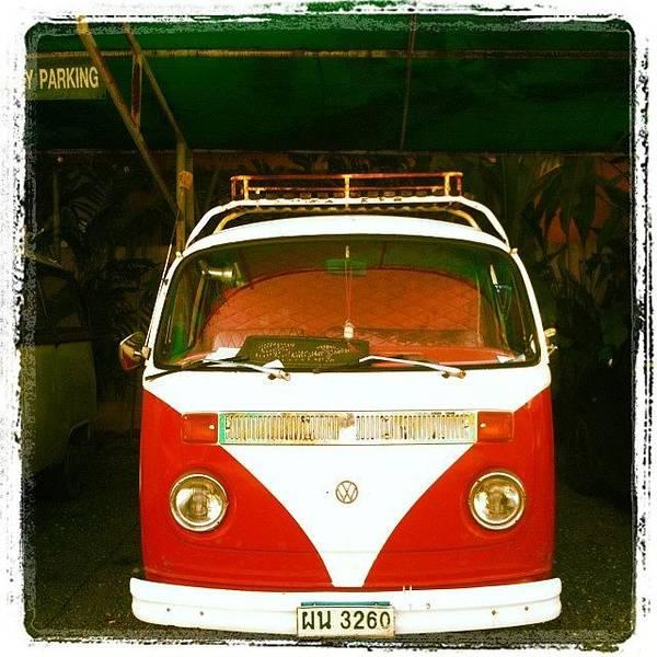 Volkswagen Wall Art - Photograph - #vw #vwcamper #vwbus #volkswagen #retro by Georgia Fowler