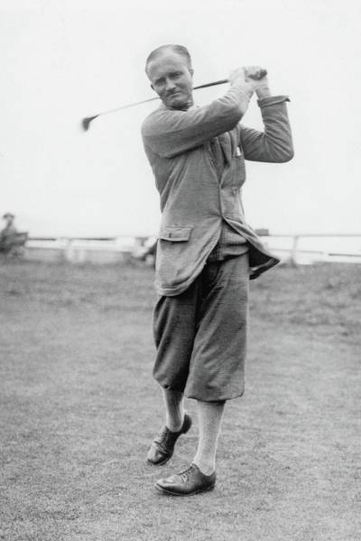 Golf Club Photograph - W A Murray At St Andrews Scotland by Artist Unknown