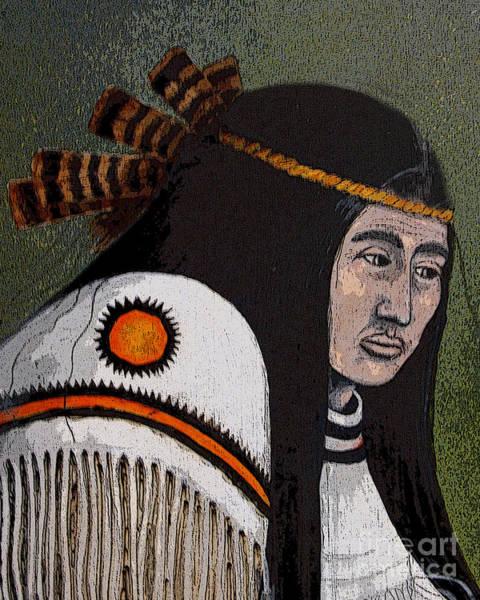 Wabanaki Warrior Art Print