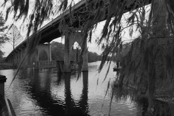 Photograph - Waccamaw Memorial Bridge In Conway South Carolina by MM Anderson